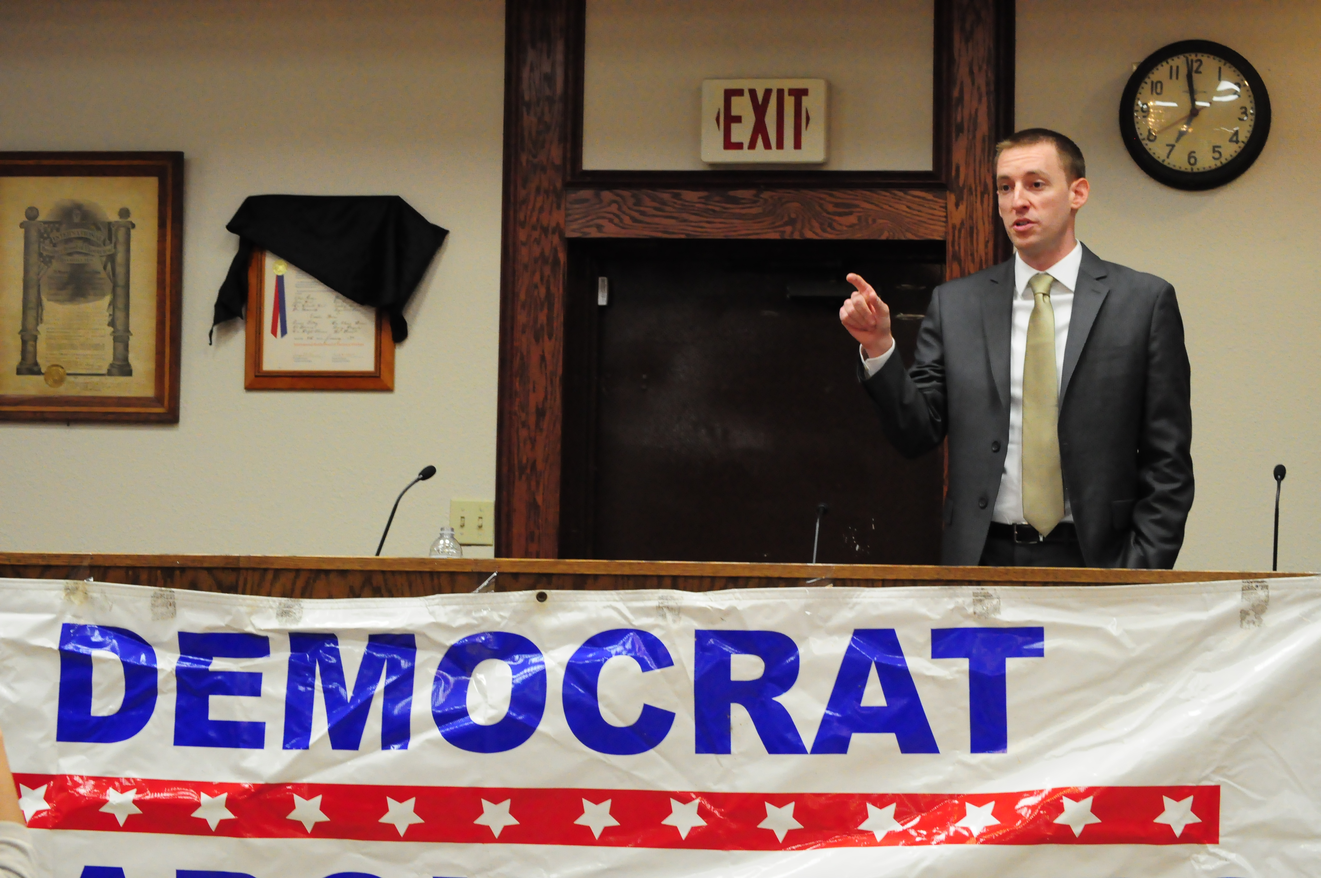Jason Kander (PoliticMo Photo)